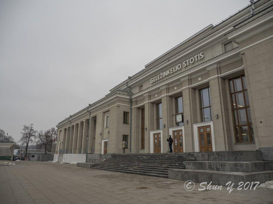 カウナス中央駅