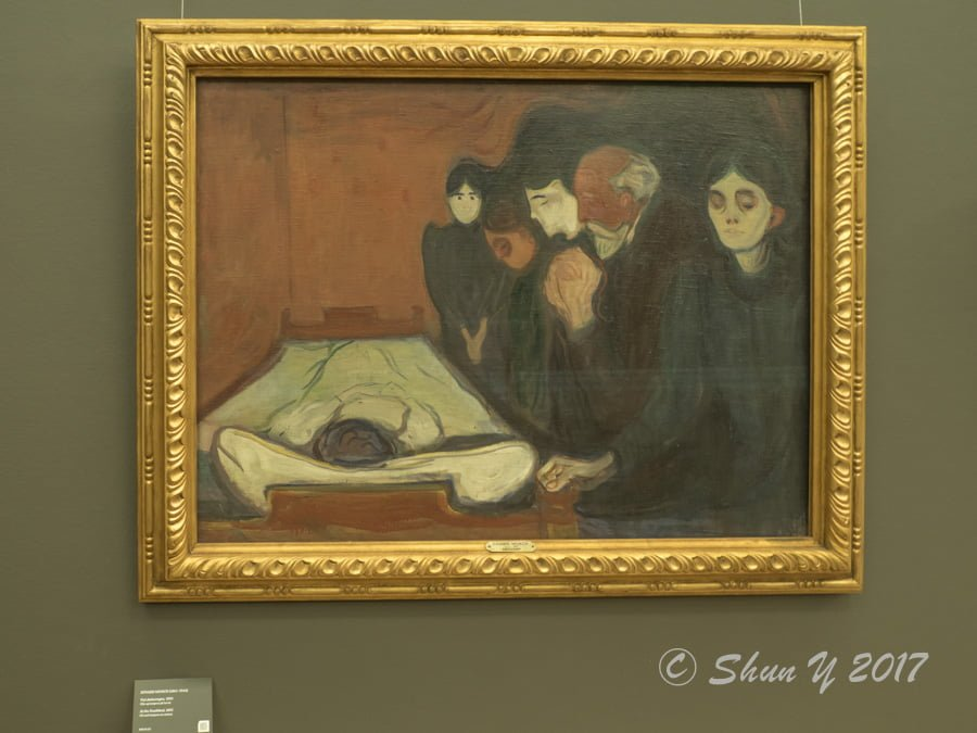 At the Deathbed, 1895