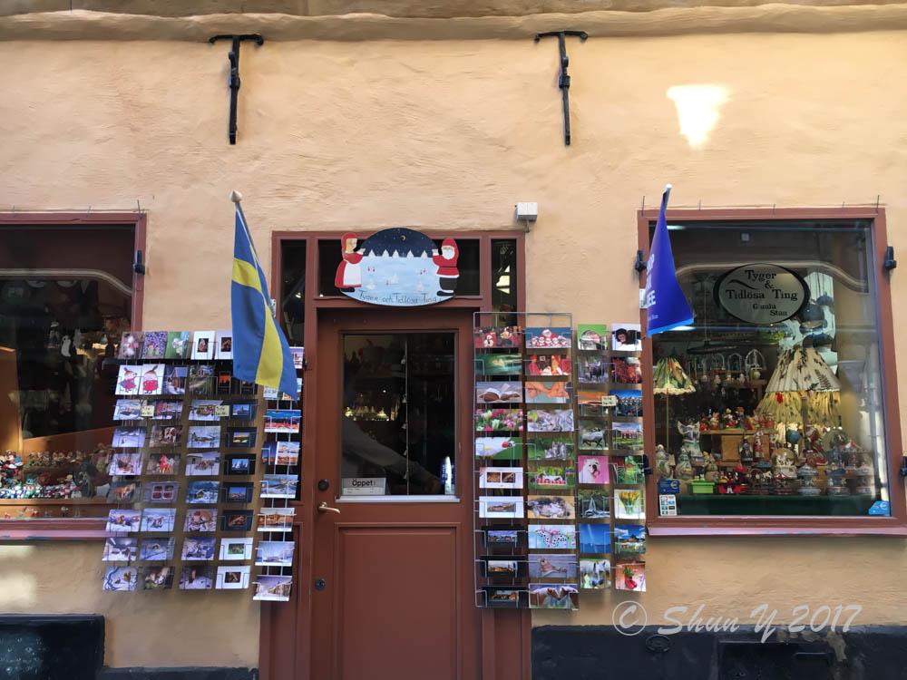スウェーデンお店