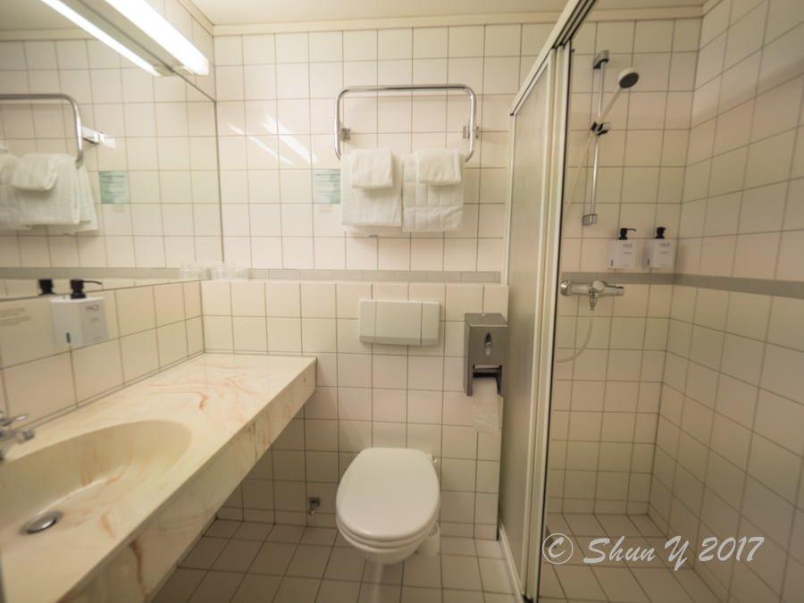 スカンディックのバスルーム
