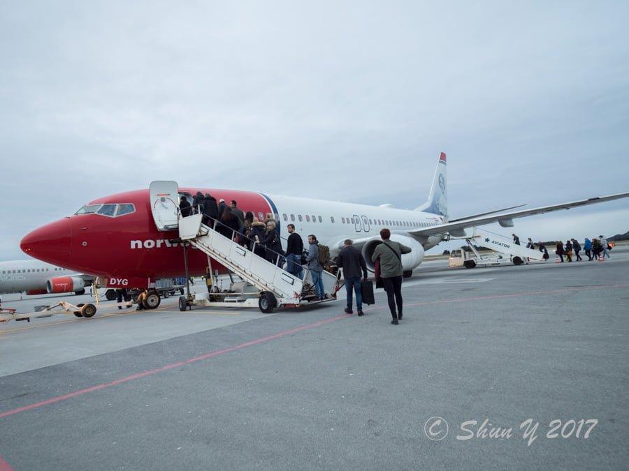 ノルウェーエアシャトル