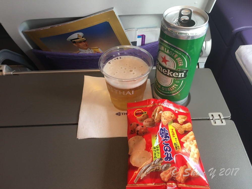 タイ航空レビュー
