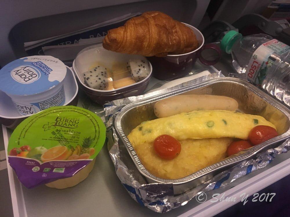 タイ航空の機内食