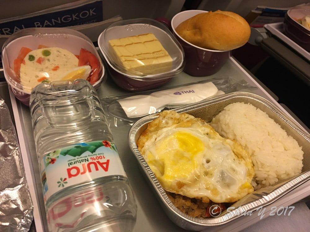 タイ航空機内食レビュー