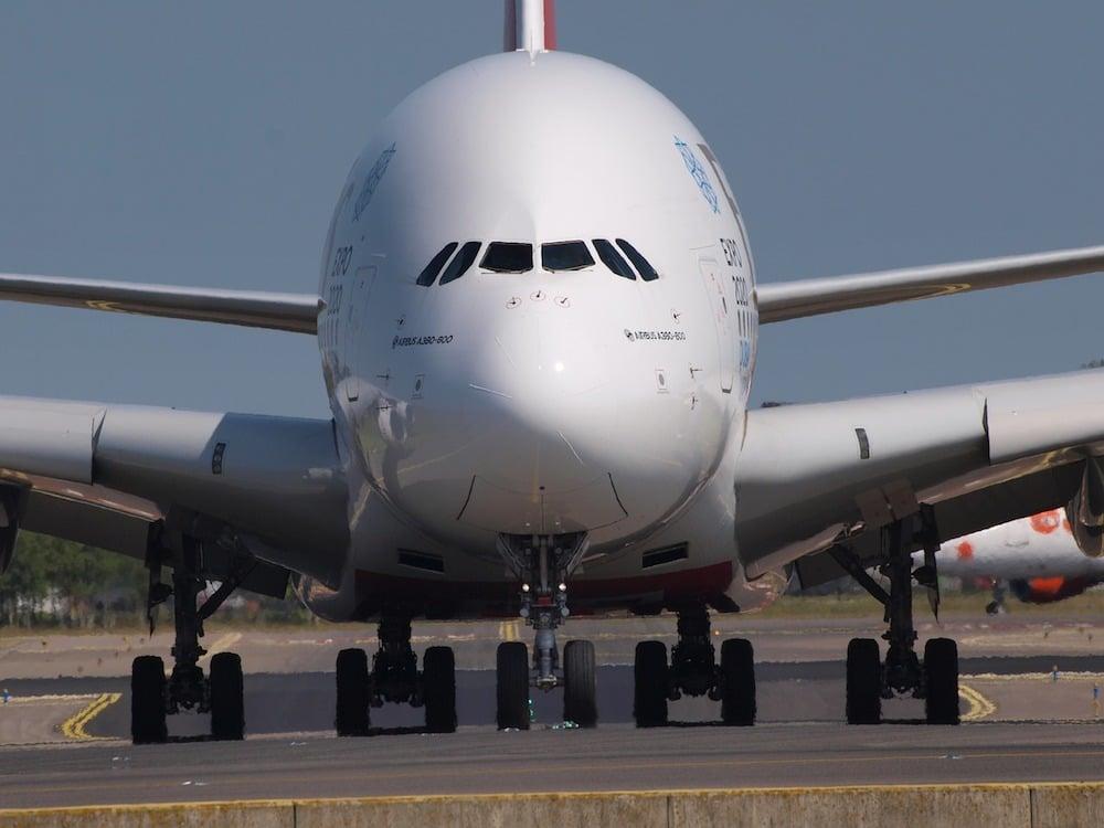 A380搭乗記
