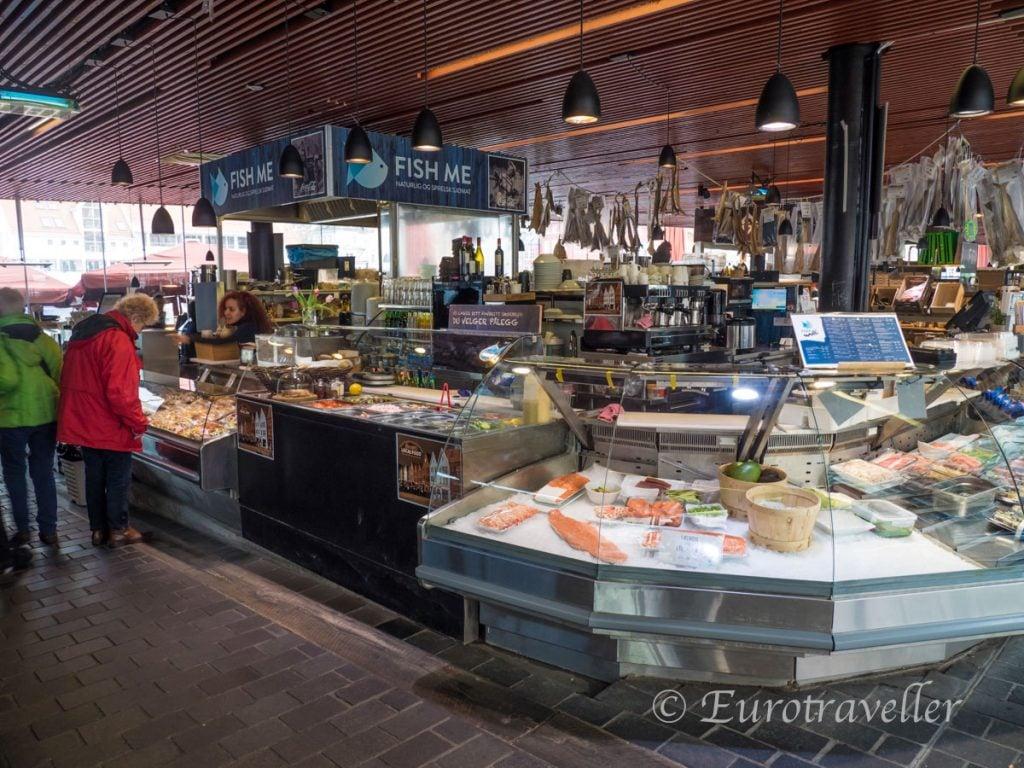 ベルゲン魚市場