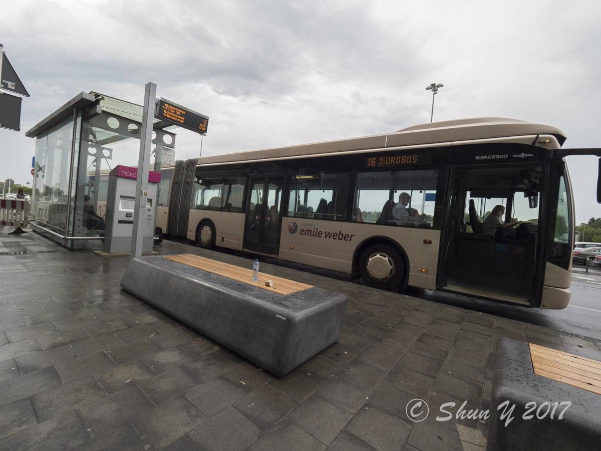 ルクセンブルク空港アクセス
