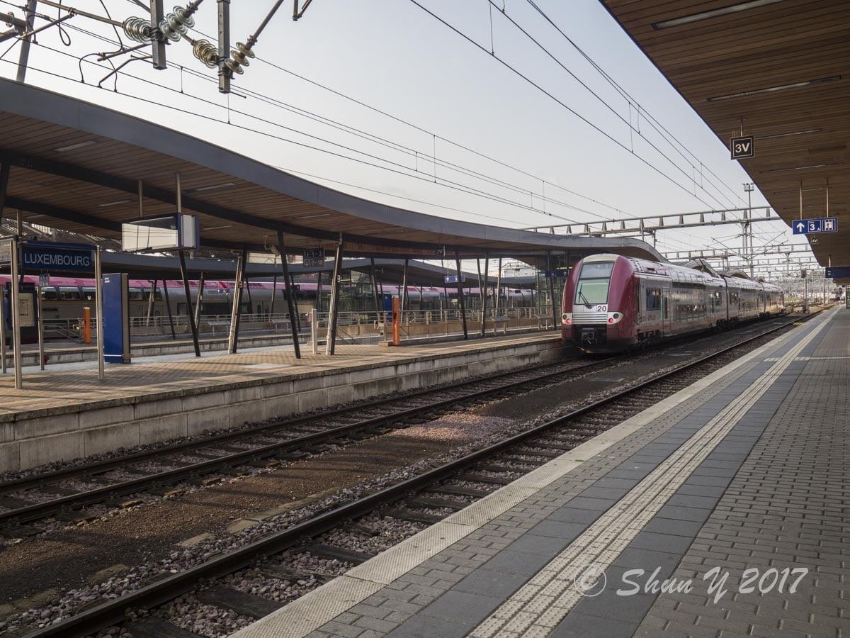 ルクセンブルグ鉄道