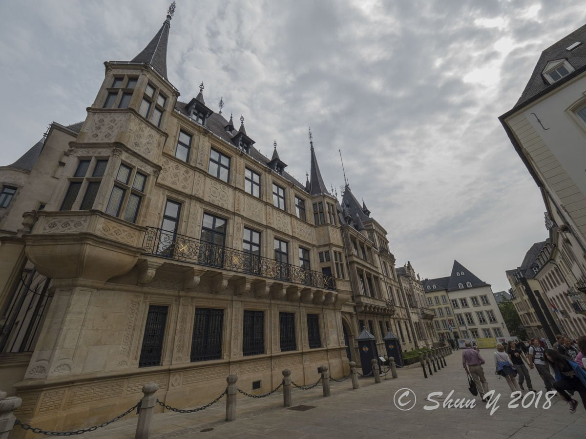 ルクセンブルク大公宮殿