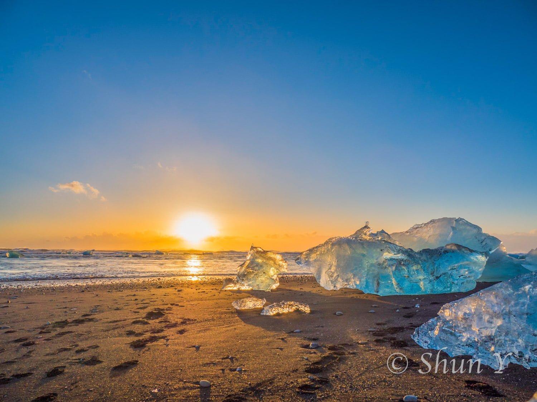 撮影地 アイスランド 南海岸