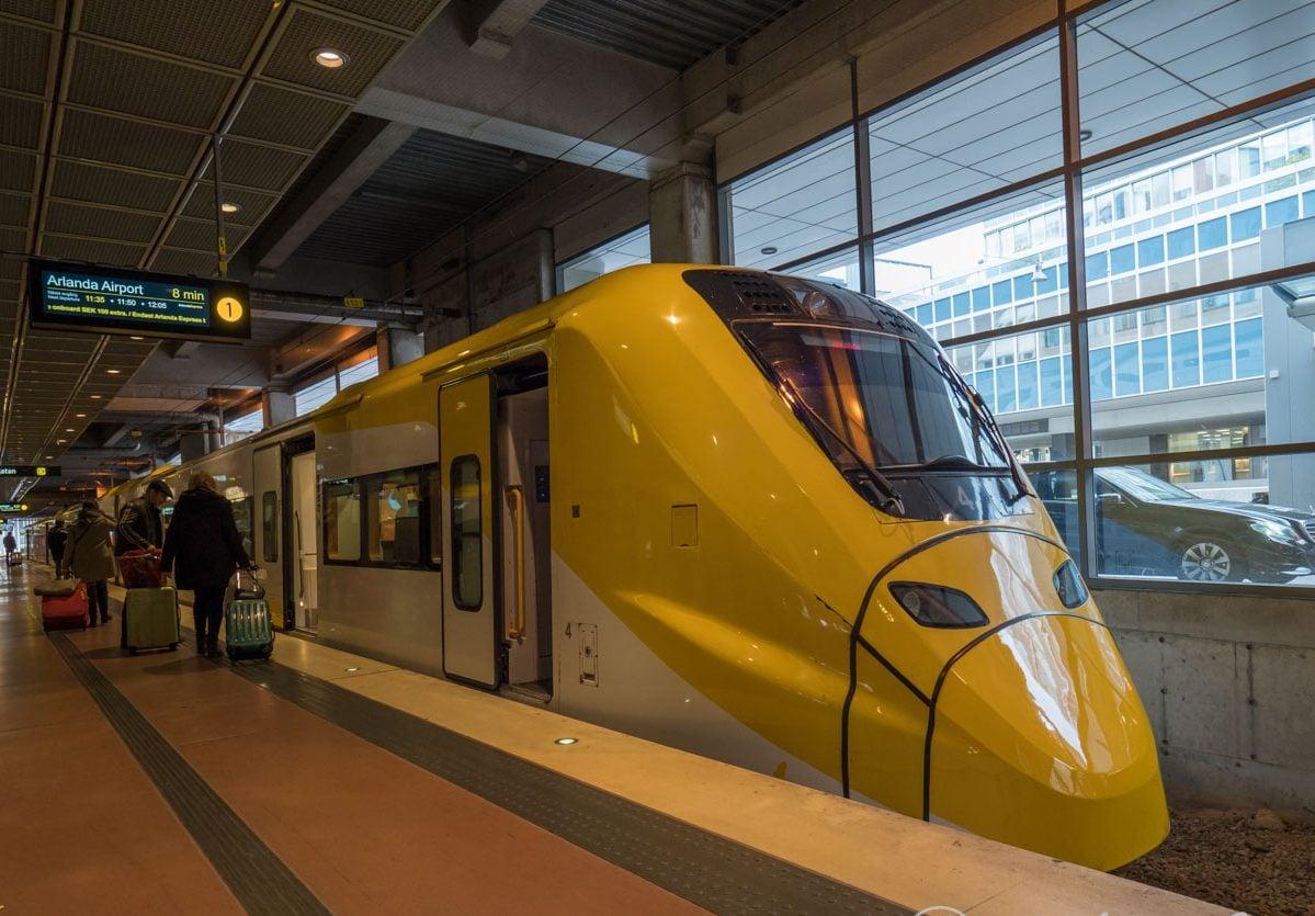 スウェーデンの鉄道
