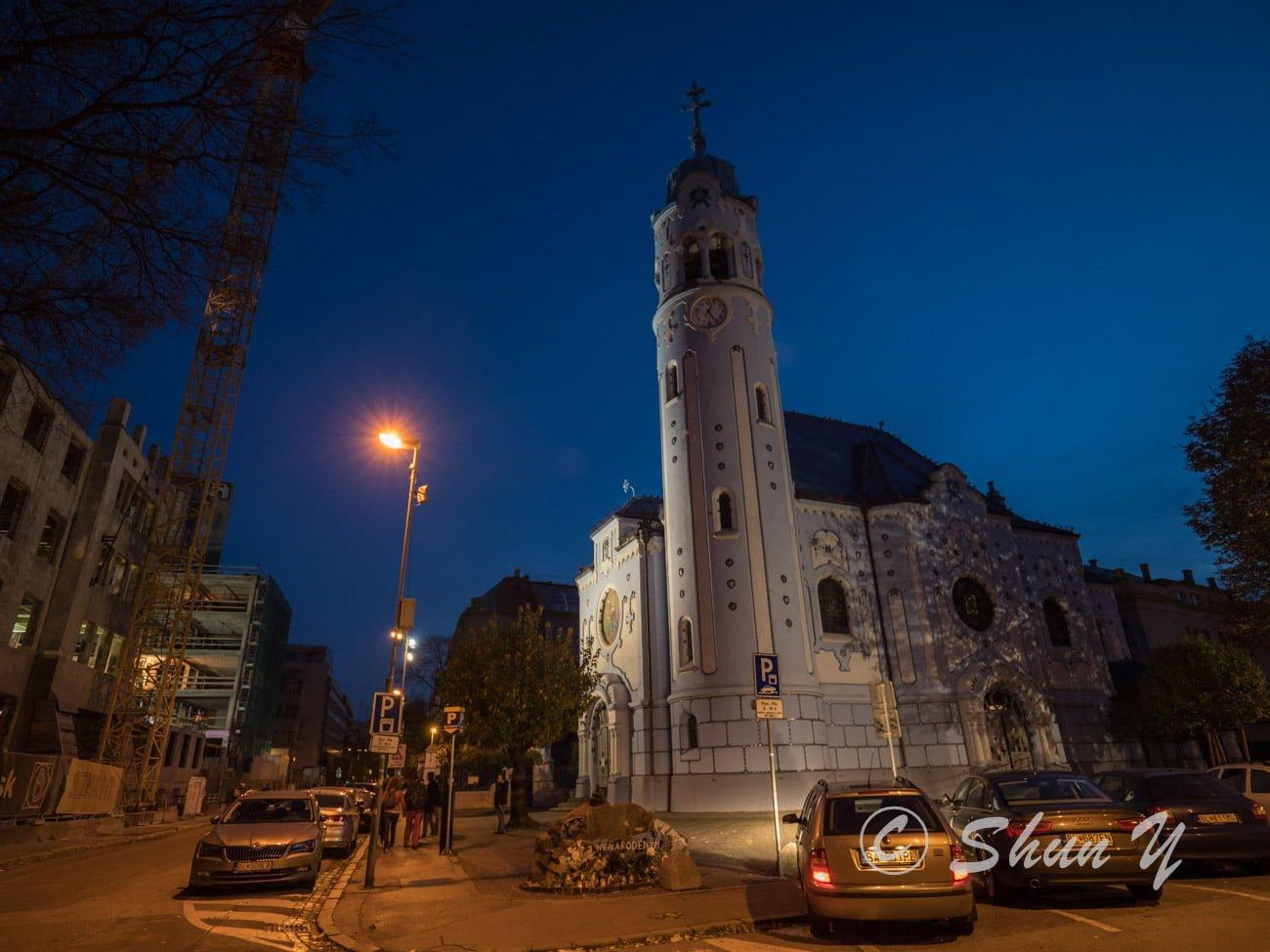ブラチスラバの教会