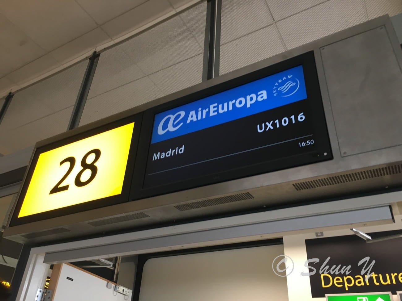 スペイン航空会社
