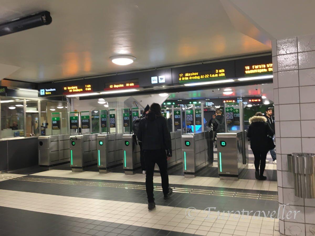 ストックホルム地下鉄