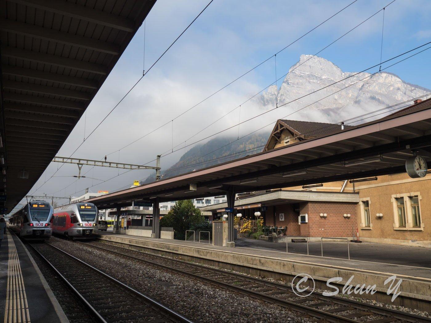 スイスのアルプス