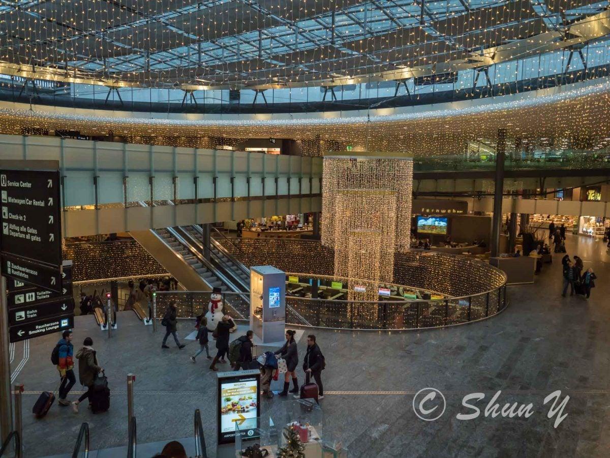 チューリッヒ空港アクセス-1