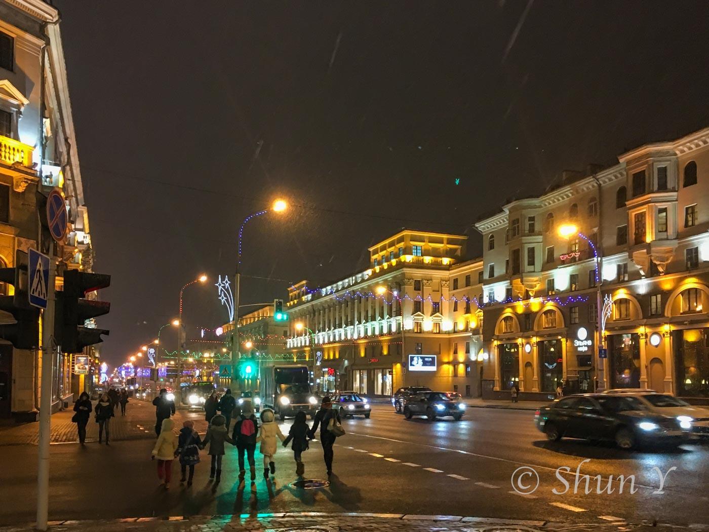 ベラルーシの治安