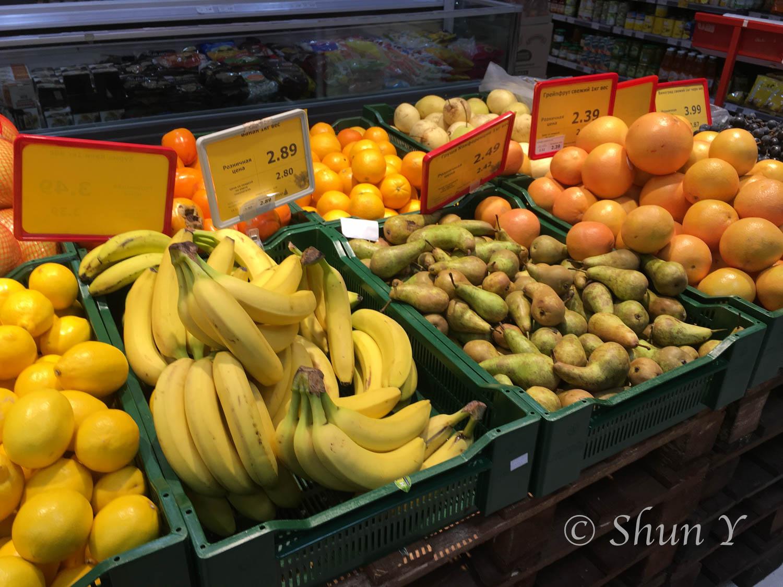 バナナ1kg130円程度