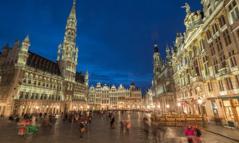 ベルギー観光ブリュッセル名所