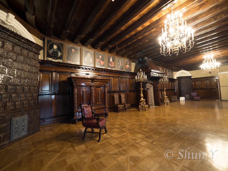 ネスヴィジ城内部高画質画像です。
