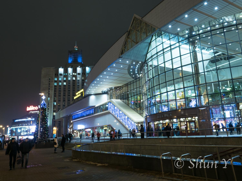 ミンスク中央駅