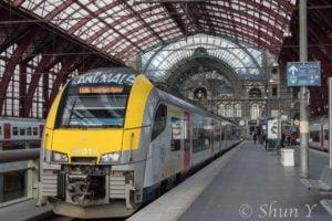 ベルギー国鉄の乗り方