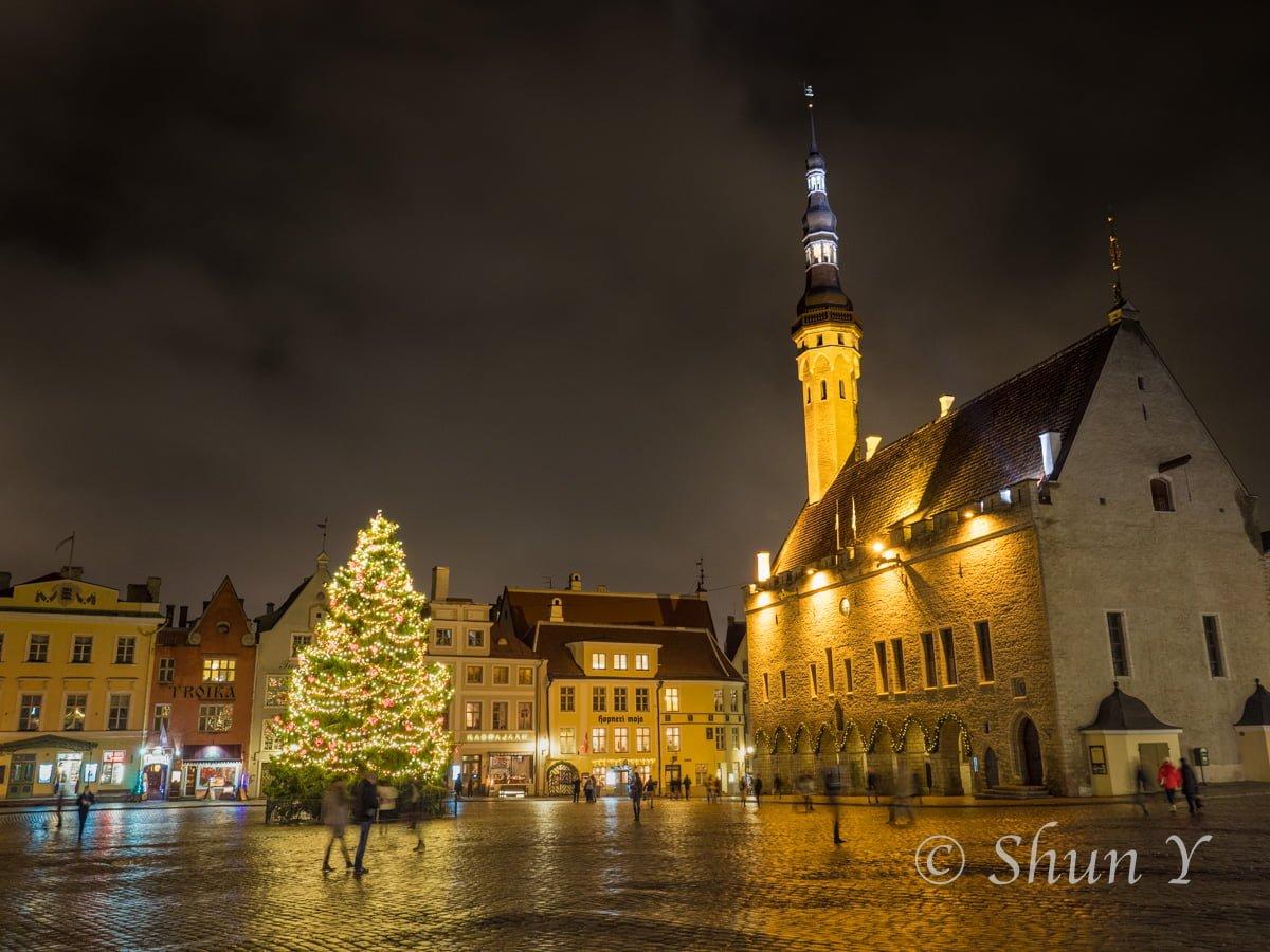 エストニア夜景と治安