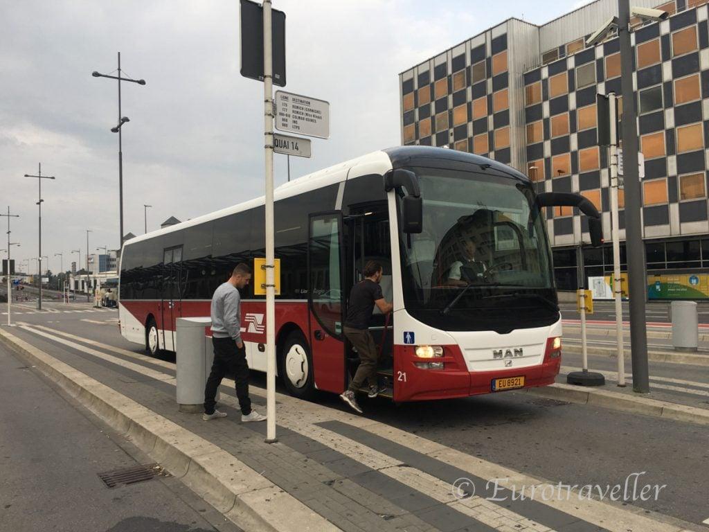 ルクセンブルクバス