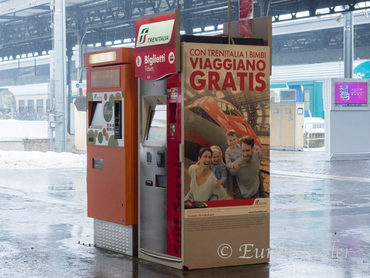 イタリア国鉄乗り方