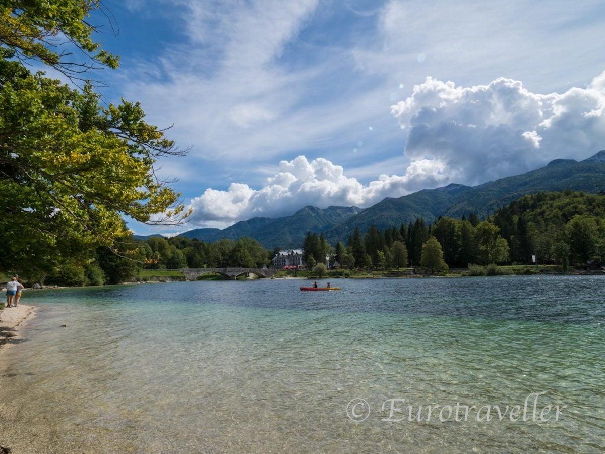 ボーヒニ湖inスロベニア