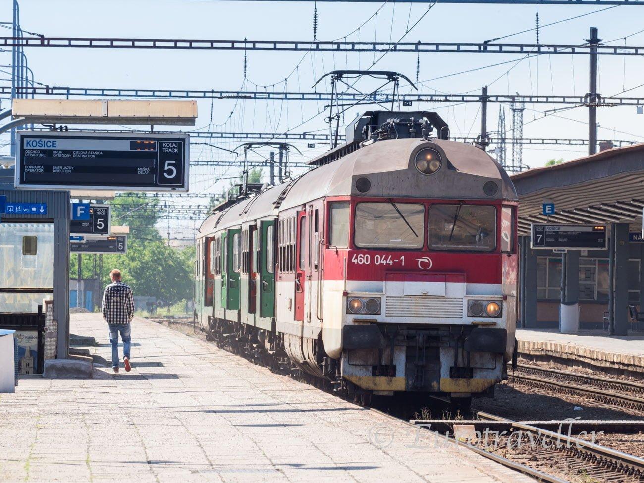 スピシュ城いき列車