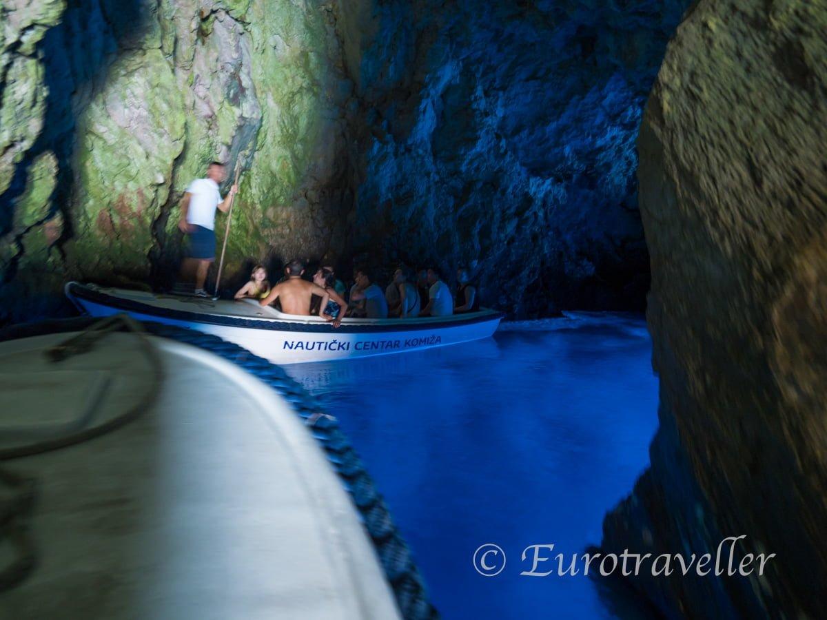 クロアチアの青の洞窟