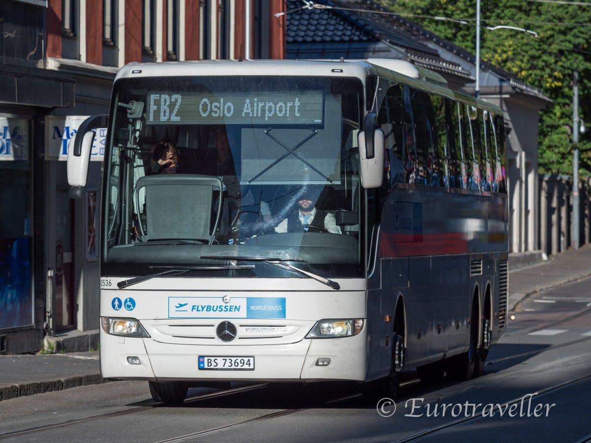 オスロ空港直通バス