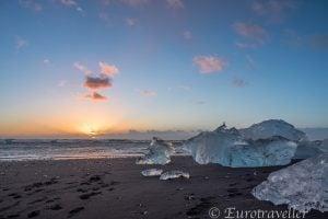 アイスビーチ(アイスランド)