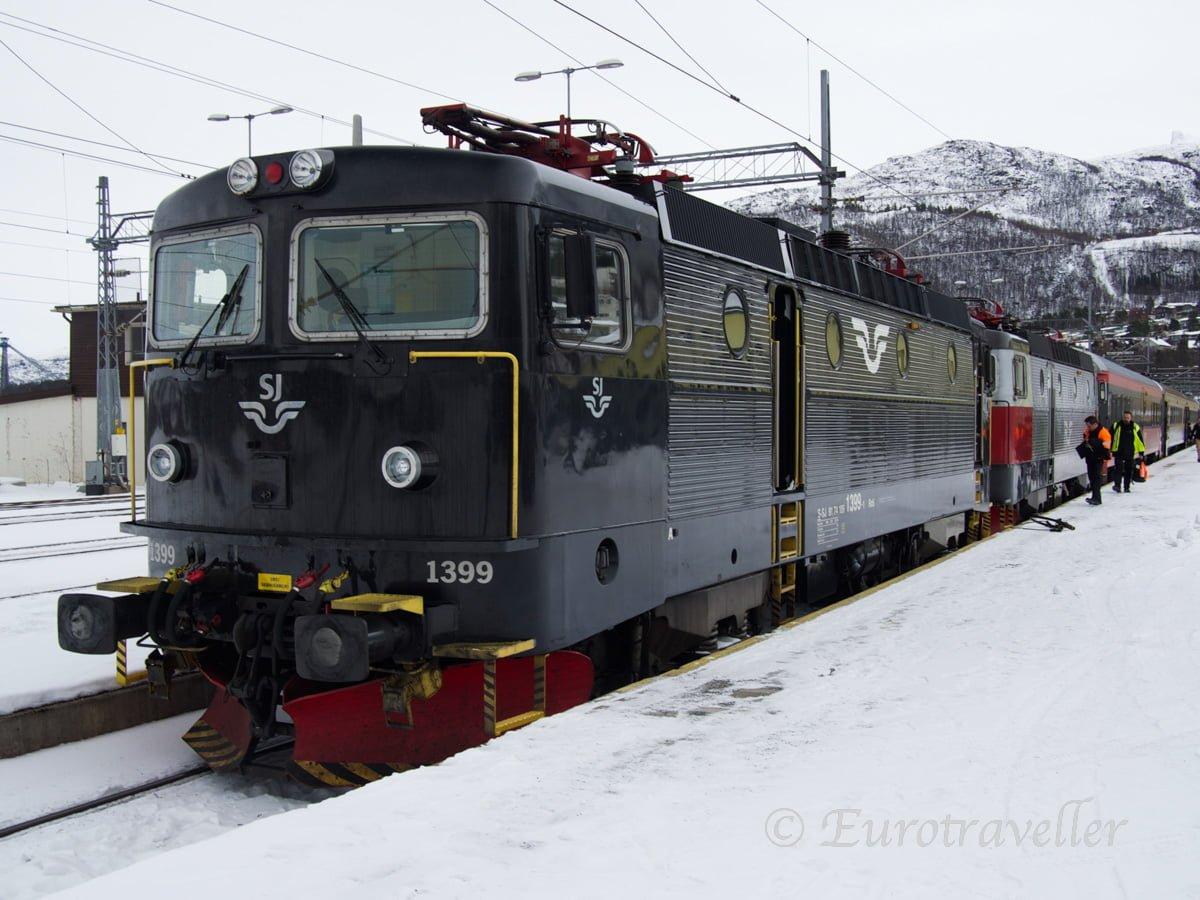 スウェーデン夜行列車