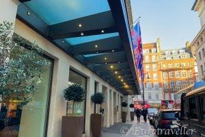 ロンドン高級ホテル