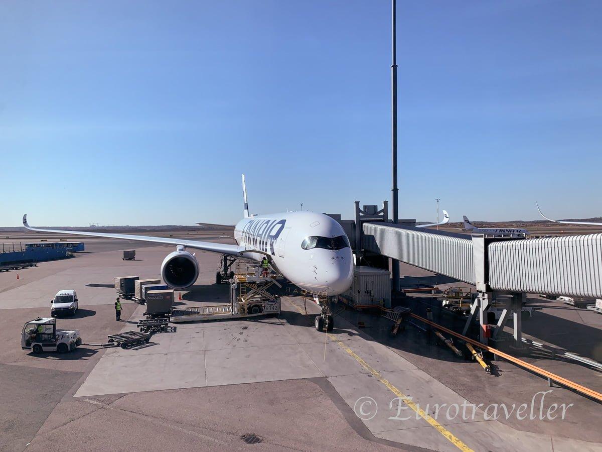 フィンランド航空レビュー