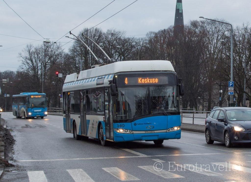 タリンの公共交通機関
