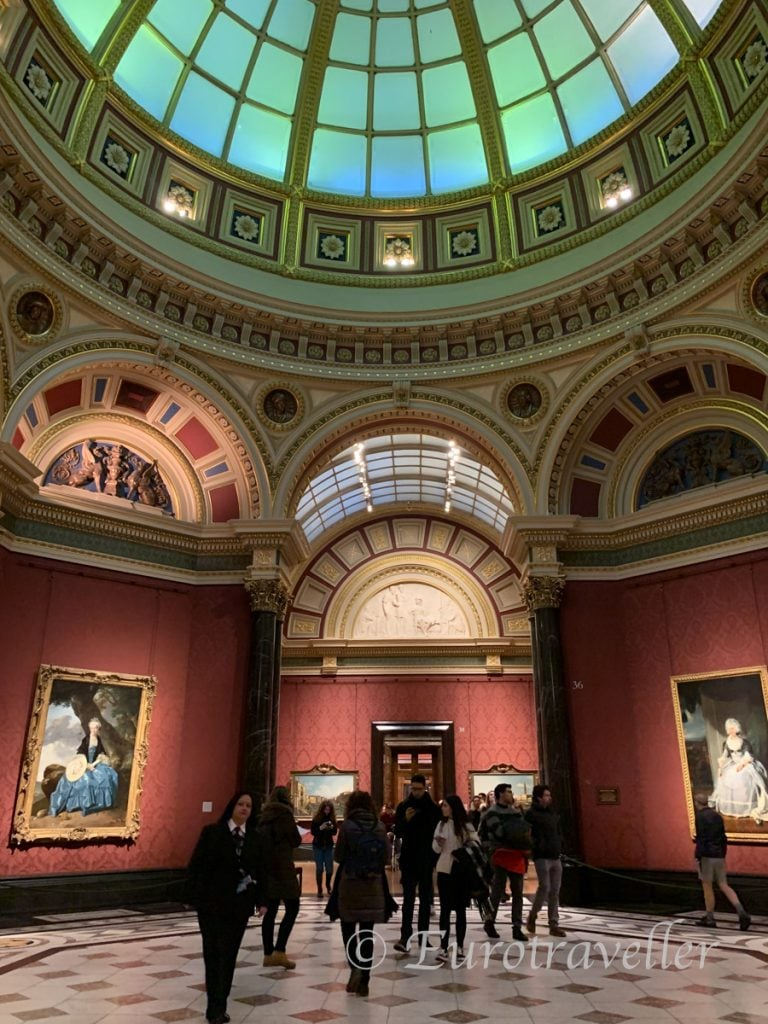 ロンドンの国立美術館