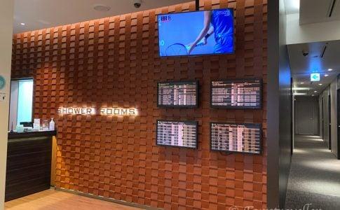 羽田空港のシャワー