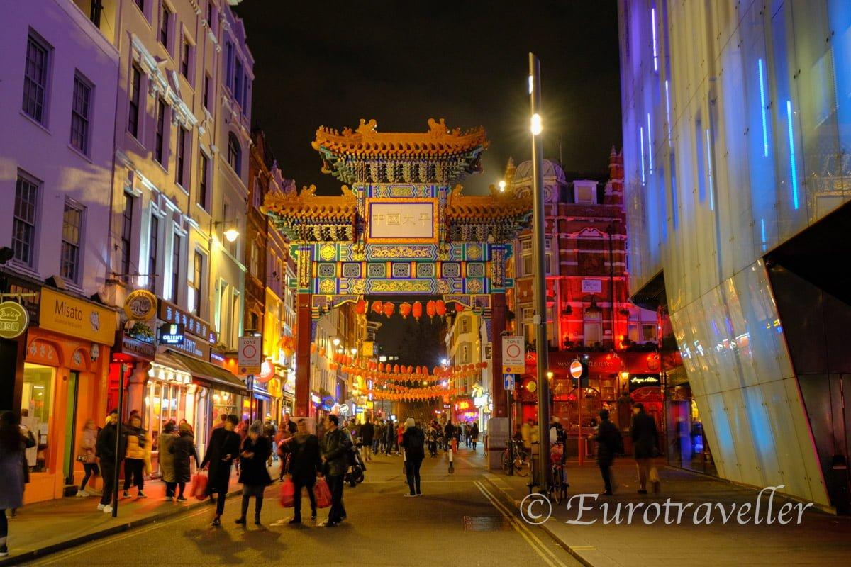 ロンドン中華街