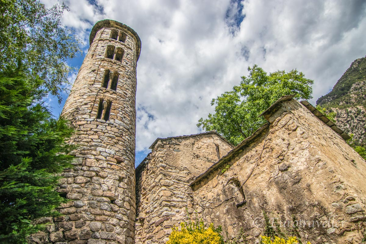 中世のアンドラ教会